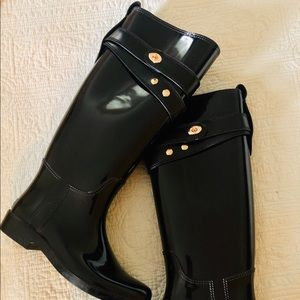 Coach rain boots size 6